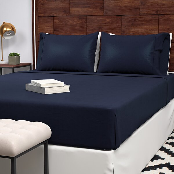Extra Soft 400 Thread Count 100% Cotton Sheet Set by Alwyn Home